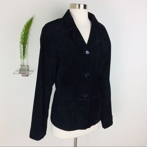 Brandon Thomas Beautiful Black Leather Jacket (L)